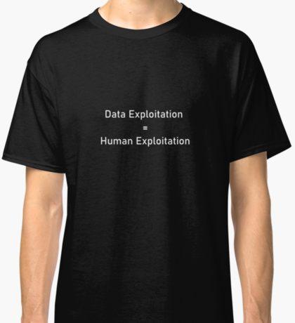 Data Exploitation=Human Exploitation